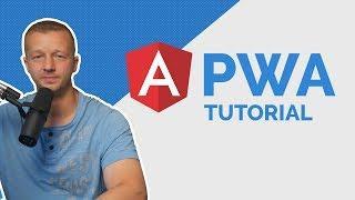 Build your First Angular PWA from Scratch (Angular 6 PWA Tutorial)