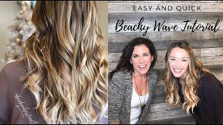 *Quick and Easy* Beachy Waves Tutorial