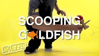 How to SCOOPING GOLDFISH - Sweets Kendamas Tutorial