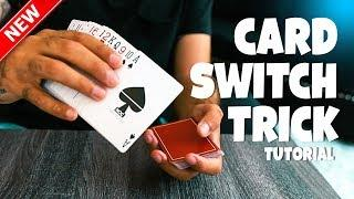 The FIRST Card Switch Effect I Created : MAGIC TRICK TUTORIAL (EASY)