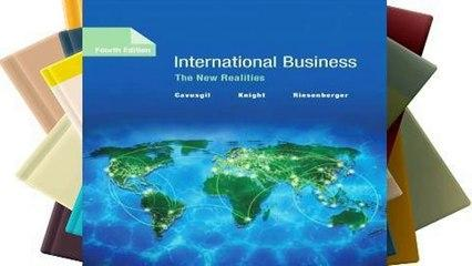 [Read] International Business: The New Realities  For Online