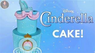 Disney Princess Cinderella Cake Tutorial!