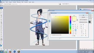 TUTORIAL - PHOTOSHOP CS3 Como Fazer Efeito Neon Envolta Da Foto [PORTUGUÊS]