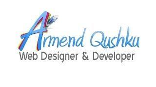 Armend Qushku : Web Designer Promo Shqip