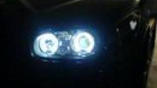 VW Golf 4 V5 Video  Pics Angel Eyes LED Neon