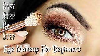 Beginners Eye Makeup Tutorial | Parts of the Eye | How To Apply Eyeshadow