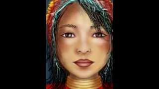 Thai Girl IPad Sketch Digital Art Tutorial  - Sketch Club