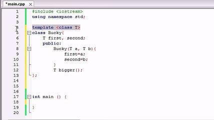 60. C++ Programming Tutorials - Class Templates