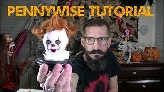 Pennywise Clown IT Doll Head DIY Tutorial