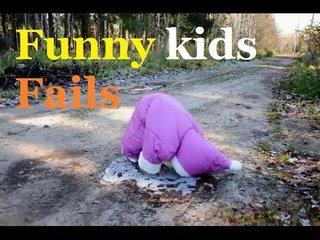 Funny Kids Fails Compilation -- funniest kid fails