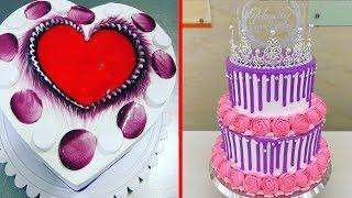 Pretty Cake Decorating Tutorial 2018 | Yummy Cake | Cake Decorating Tutorial