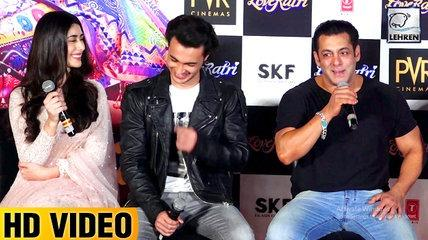 Salman Khan Shares FUNNY STORY On How He Met Ayush Sharma For The First Time