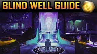 Destiny 2 Forsaken BLIND WELL Tutorial/Guide POWERFUL GEAR BOUNTY EXPLAINED (Blind Well Tier 1 & 2)