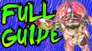 FULL ATTACK OF THE RADIOACTIVE THING EASTER EGG GUIDE & BOSS FIGHT TUTORIAL INFINITE WARFARE ZOMBIES