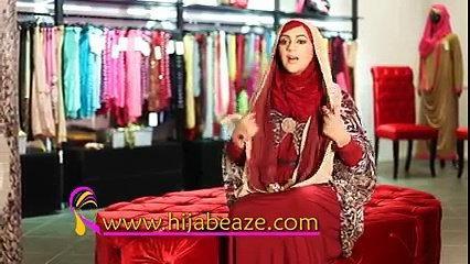 Dual Infinity Hijab Tutorial   Hijabeaze by Urooj Asif