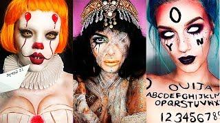 INCREÍBLES MAQUILLAJES PARA HALLOWEEN #14 / Easy Halloween Make Up Tutorial 2017