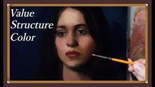 Portrait Painting Tutorial | PAINT like SCULPTURE - Real Time
