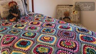 Crochet Ornament Blanket - Full Tutorial