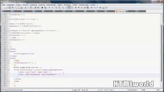 PHP Tutorial: LOGIN Per PHP SESSION Erstellen | Deutsch