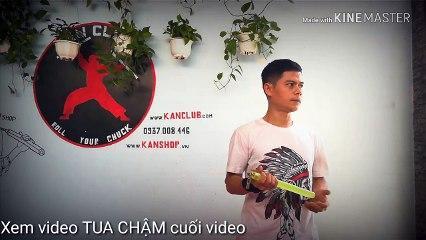 [HƯỚNG DẪN CÔN NHỊ KHÚC - Video 191] Tua chậm và hd kỹ thuật tung côn. #Nunchaku tutorial. #Kanclub