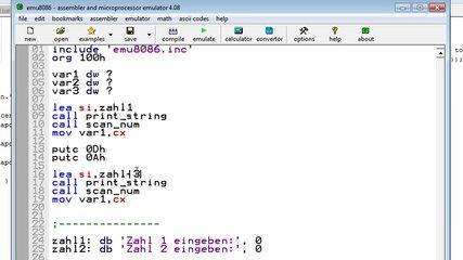 Minecraft - Building a 16 Bit CPU - Part #28 - Assembler - Variablen [Tutorial] [HD] [GER]