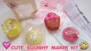 'CUTE' PACKAGING DIY SQUISHY MAKER KIT - BIKIN SQUISHY SENDIRI DI RUMAH  [ TUTORIAL BHS INDONESIA ]