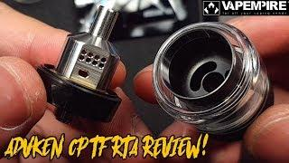 Advken CP TF RTA (Top Airflow, Single Coil) Review/Tutorial (malay version)