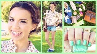 Get Ready With Me!❀ Spring Makeup, Hair, And Outfit!