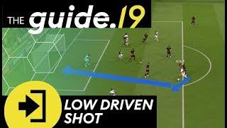 FIFA 19 new post patch DEADLY FINISHING technique | Low driven shot tutorial! | THE GUIDE