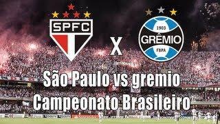 Campeonato Brasileiro - São Paulo X Gremio PES 2014