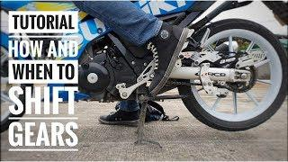 Pinoy Tutorial: How and When to Shift / Change Gears on Motorcycle