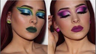 2 LOOKS | Morphe x James Charles Palette Review/Tutorial | PART 1