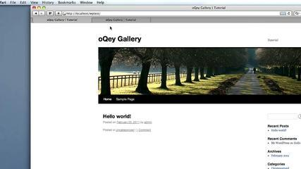 Photo Gallery | Slideshow Plugin | OQey Gallery Tutorial English