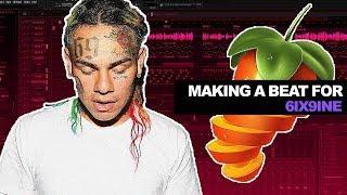 Making a Beat for 6IX9INE | FL Studio Tutorial