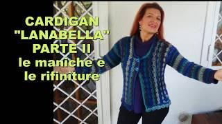 CARDIGAN FACILE UNCINETTO LANA BELLA parte II Alex Crochet tutorial