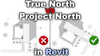 Setting the True North in Revit Tutorial