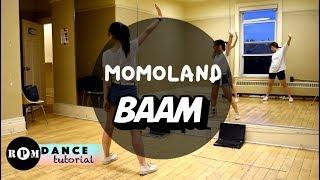 "MOMOLAND ""BAAM"" Dance Tutorial (Pre-Chorus, Chorus, Breakdown)"