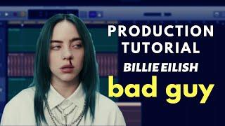 "GarageBand Production Tutorial: Billie Eilish - ""bad guy"" 