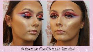 Rainbow Cut Crease Tutorial | JESSICA TRANT