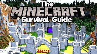 Castle Building, Pt.2: Walls & Towers ▫ The Minecraft Survival Guide (Tutorial Lets Play) [Part 114]