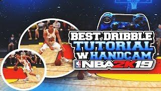 HOW TO DRIBBLE IN NBA2K19- BEST DRIBBLE TUTORIAL W/HANDCAM- WATCH TO BECOME A DRIBBLEGOD