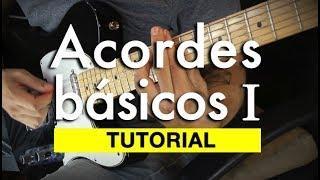 Tutorial: Acordes básicos I triadas / ¡Aprende a tocar los acordes básicos en todo el brazo!
