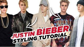 Justin Bieber - Styling Tutorial  2016