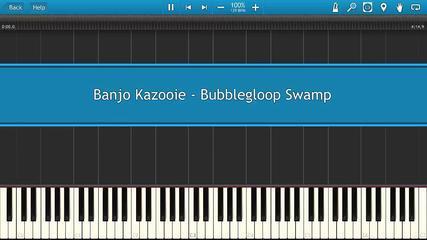 Banjo Kazooie - Bubblegloop Swamp [Piano Tutorial]
