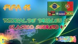 FIFA 13 - Skills Tutorial 27 - Elástico Secreto De 4 Estrelas | PORTUGUÊS