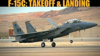 F-15C Eagle: Takeoff & Landing Tutorial | DCS WORLD