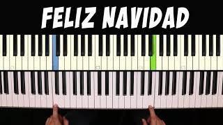 Feliz Navidad / Piano Facil / Tutorial / Notas Musicales