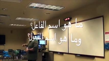 Arabic As A Foreign Language Active-Passive Participle By Mohamed Ansary