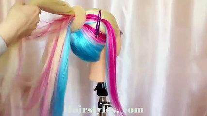 Beautiful hairstyle  hair bow _ tutorial -