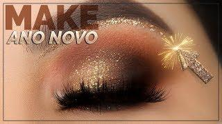 Maquiagem ESPECIAL de ANO NOVO - Holiday Makeup Tutorial